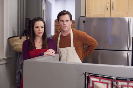 Tammy Blanchard as Jenny and Mike Doyle as Bill in ``Union Square.''