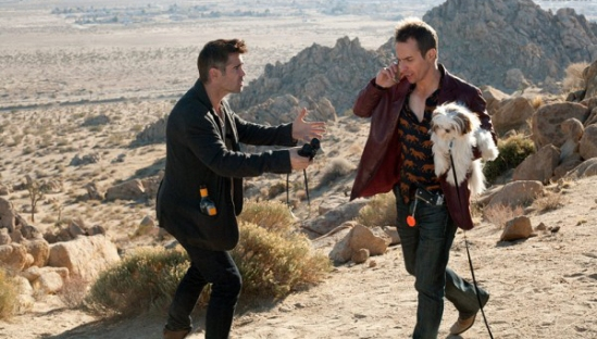 Colin Farrell and Sam Rockwell in Seven Psychopaths