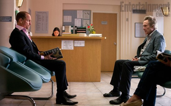 Woody Harrelson and Christopher Walken in Seven Psychopaths
