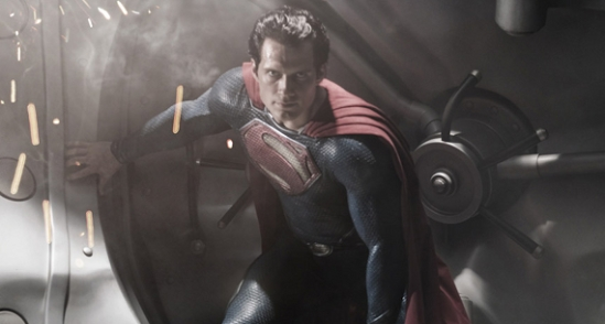 First Image of Henry Cavill as Superman in Man of Steel