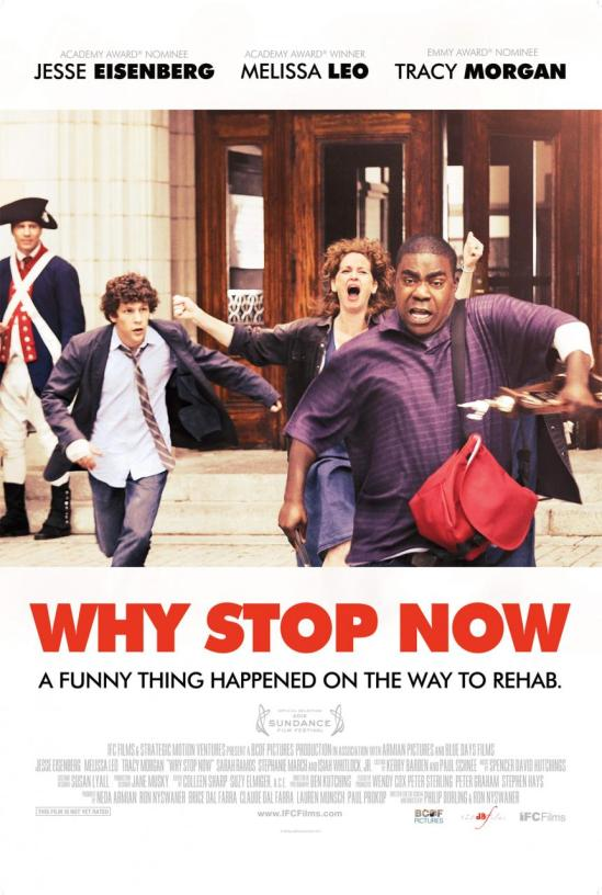 Why Stop Now movie poster