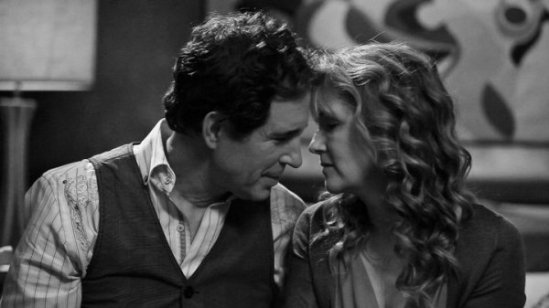 John Shea and Lea Thompson in The Trouble with the Truth