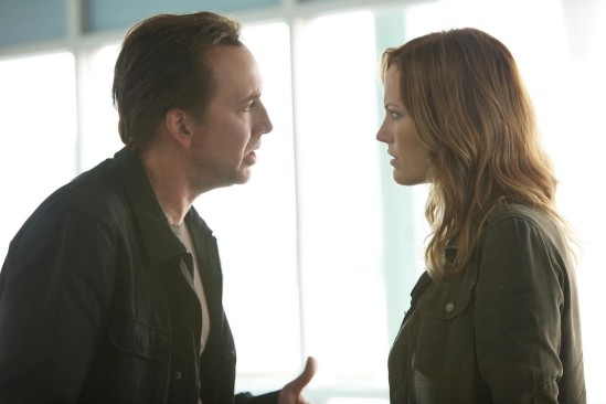 Nicholas Cage and Malin Ackerman in Stolen