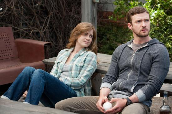 Justin Timberlake and Amy Adams in Trouble with the Curve