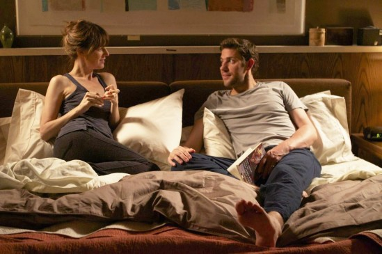 John Krasinski and Rosemarie DeWitt in Nobody Walks